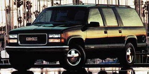 1997 GMC Suburban 4DR 4WD 1500 Onyx Black V8 57L Automatic 0 miles  Four Wheel Drive  Tow Ho