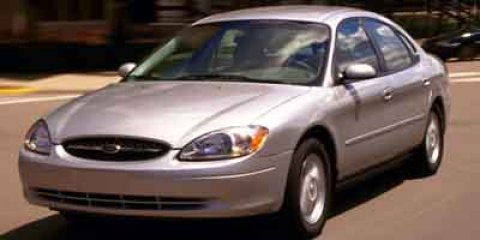 2001 Ford Taurus SES Toreador Red MetallicDark Charcoal V6 30L Automatic 155165 miles GUARANT