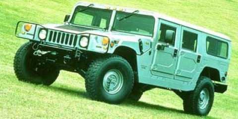 1997 AM General Hummer Black V8 65L Automatic 37496 miles ORIGINAL AMG HUMMER Join us at Cher