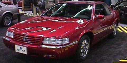 1998 Cadillac Eldorado Touring White V8 46L Automatic 87540 miles Elegantly expressive this 1