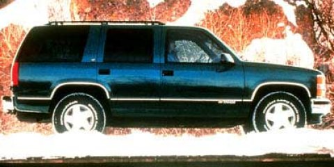 1998 Chevrolet Tahoe 4DR 4WD  V8 57L Automatic 250707 miles 4WD Joy Ride A worthy endeavor i