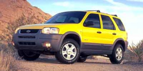 2001 Ford Escape XLS Black V6 30L 182 Automatic 139755 miles Snatch a steal on this 2001 For