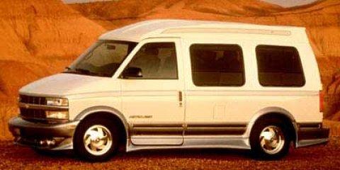1998 Chevrolet Astro Cargo Van YF7 Ivory White V6 43L Automatic 90265 miles  Rear Wheel Drive