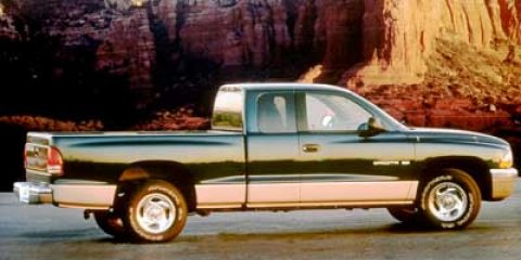 1998 Dodge Dakota SLT Forest Green PearlMist Gray V6 39L Automatic 109842 miles From city str