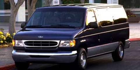 1998 Ford Econoline Cargo Van Recreational Black CC V8 54L Automatic 123337 miles  Rear Whee