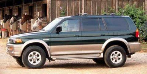1998 Mitsubishi Montero Sport LS Phoenix Red V6 30L Automatic 50578 miles Win a bargain on th