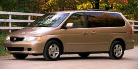 2001 Honda Odyssey EX Silver V6 35L Automatic 184972 miles Say hello to your new vehicle this