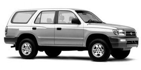 1998 Toyota 4Runner Cool Steel Met V4 27L Manual 198923 miles  Rear Wheel Drive  Tires - Fr