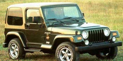 1998 Jeep Wrangler Sahara Moss Green PCGreen V6 40L Manual 133410 miles This 1998 Jeep Wrang