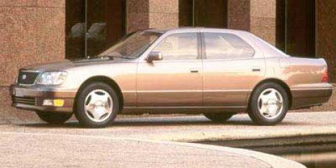 1998 Lexus LS 400 Luxury  V8 40L Automatic 111735 miles  Rear Wheel Drive  Traction Control