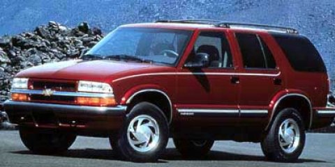 1999 Chevrolet Blazer Red V6 43L Automatic 124555 miles  Rear Wheel Drive  Tires - Front All-