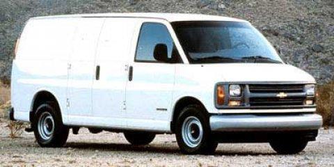 1999 Chevrolet Express Cargo Van White3 V8 57L Automatic 250663 miles  Rear Wheel Drive  Tire