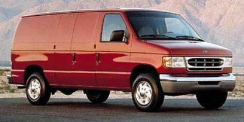 1999 Ford Econoline Cargo Van VAN E-150 Toreador Red Metallic V6 42L Automatic 282822 miles