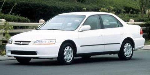 1999 Honda Accord Sdn LX Dark Emerald Pearl V4 23L Automatic 0 miles  Front Wheel Drive  Eng