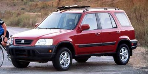 1999 Honda CR-V LX Milano Red V4 20L Automatic 154728 miles  Front Wheel Drive  Tires - Front