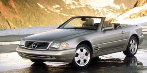 1999 Mercedes SL-Class 2DR ROADSTER Black V8 50L Automatic 128420 miles  Traction Control  St