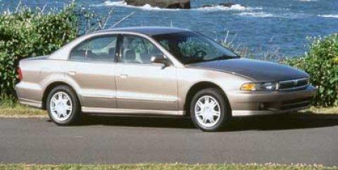 1999 Mitsubishi Galant DE  V4 24L Automatic 218180 miles New Arrival NHTSA 5 STAR CRASH RATI