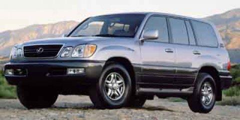 2001 Lexus LX 470 4DR SUV Blue Vapor Metallic V8 47L Automatic 198690 miles  Four Wheel Drive