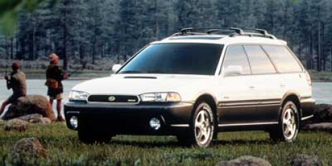 1999 Subaru Legacy Wagon Outback Glacier White V4 25L Automatic 177640 miles  All Wheel Drive