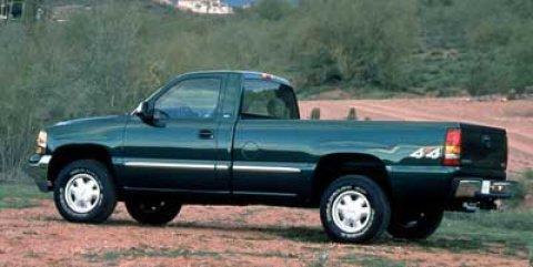 1999 GMC New Sierra 1500 Black V6 43L  131803 miles  Four Wheel Drive  T