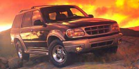 1999 Ford Explorer Gray V6 40L  183318 miles CARFAX BUY BACK GUARANTEE Rear Wheel Drive  Con