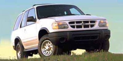 1999 Ford Explorer Sport White V6 40L  184581 miles 4-Wheel Drive and Roof Rack This 1999 F