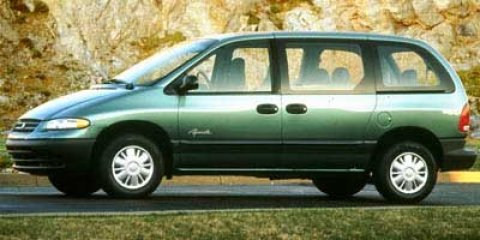 1999 Plymouth Voyager Base Green V4 24L Automatic 227189 miles  Front Wheel Drive  Tires - Fr