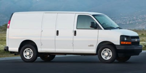 2006 Chevrolet 3500 Express Cargo Van V8 60L Summit White V8 60L Automatic 0 miles  Rear Whee