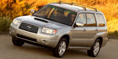 2006 Subaru Forester 25 XT Limited CLASSIC SILVERDARK GRAY V4 25L Automatic 88922 miles  Tur