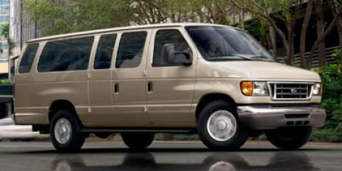 2006 Ford Econoline Wagon MED OPALEBONY VINYL BENCH Oxford WhiteMedium Flint V8 54L Automatic