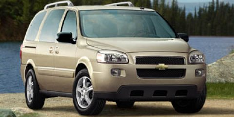 2006 Chevrolet Uplander LS Gold V6 35L Automatic 106780 miles The van youve always wanted Sw