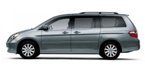 2006 Honda Odyssey TOURING Midnight Blue PearlGray V6 35L Automatic 85634 miles  Traction Cont