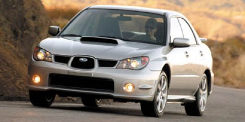 2006 Subaru Impreza Sedan WRX Limited Silver V4 25L Automatic 111321 miles Come see this 2006