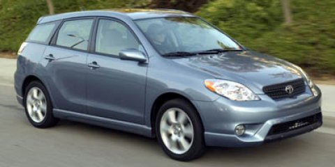 2006 Toyota Matrix Silver Streak Mica V4 18L Automatic 126506 miles Great minds think alike