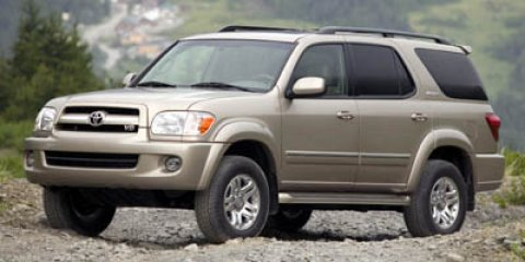2006 Toyota Sequoia Limited Phantom Gray PearlGray V8 47L Automatic 121450 miles Look at this