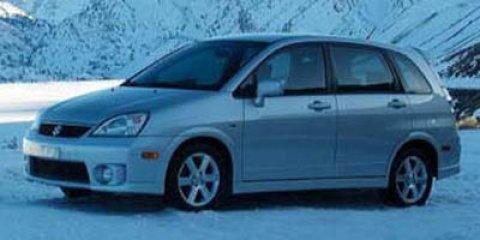 2006 Suzuki Aerio Premium Pkg Racy Red V4 23L  160191 miles  Front Wheel Drive  Tires - Fron