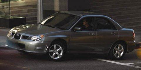 2006 Subaru Impreza Sedan i PEWTERTaupe V4 25L Manual 105359 miles  All Wheel Drive  Side Sta