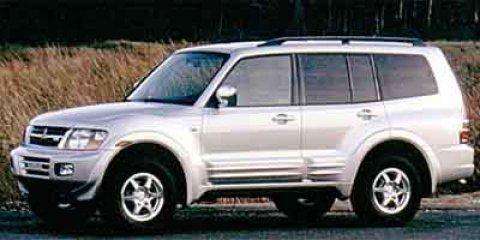 2001 Mitsubishi Montero LTD  V6 35L Automatic 139610 miles  Four Wheel Drive  LockingLimited