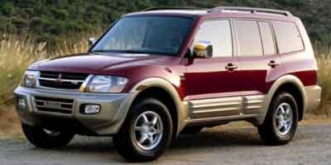2002 Mitsubishi Montero LTD  V6 35L Automatic 131770 miles  Four Wheel Drive  LockingLimited