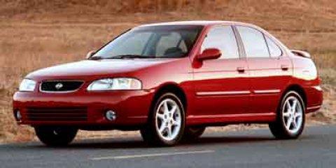 2001 Nissan Sentra SE Inferno Metallic V4 20L  125674 miles Get a bargain on this 2001 Nissan