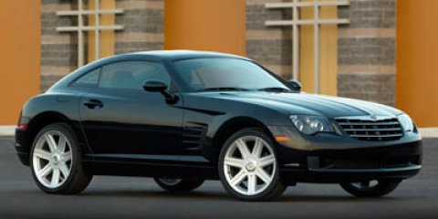2006 Chrysler Crossfire 2DR CPE Black V6 32L Manual 65647 miles  Traction Control  Rear Wheel