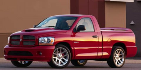 2006 Dodge Ram SRT-10 REG CAB 4X2 SRT-1 BLACK V10 83L Manual 28730 miles  Rear Wheel Drive