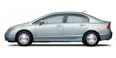 2006 Honda Civic Hybrid Hybrid Opal Blue Silver Metallic V4 13L Variable 81992 miles  Front Wh