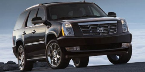 2007 Cadillac Escalade Base Black Raven V8 62L Automatic 114196 miles  All Wheel Drive  Tow H