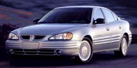 2001 Pontiac Grand Am GT Galaxy Silver Metallic V6 34L Automatic 146480 miles  Traction Contro