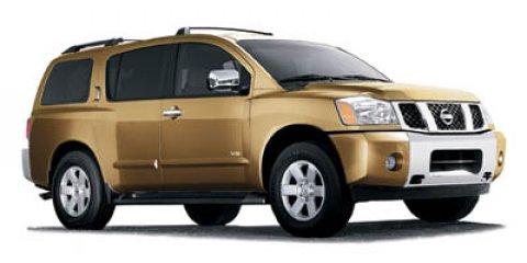 2006 Nissan Armada LE Galaxy Black Metallic V8 56L Automatic 151512 miles Scores 18 Highway M