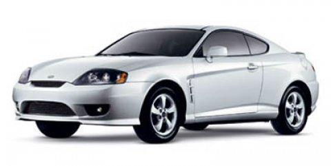 2006 Hyundai Tiburon GS Alpine White V4 20L Automatic 83615 miles  Front Wheel Drive  Tires -