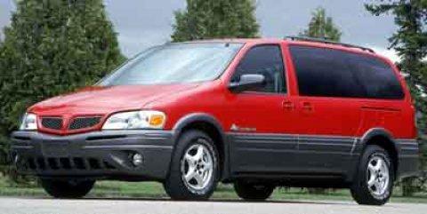 2001 Pontiac Montana w1SG Pkg  V6 34L Automatic 131938 miles Get a bargain on this 2001 Pont