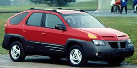 2001 Pontiac Aztek Red V6 34L Automatic 162220 miles  Front Wheel Drive  Tires - Front All-S