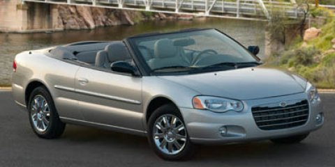 2006 Chrysler Sebring Conv Touring  V6 27L Automatic 117740 miles  Front Wheel Drive  Tires